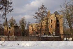 brederode城堡荷兰语 库存图片