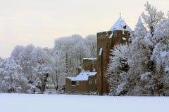 brederode城堡荷兰santpoort 免版税库存照片