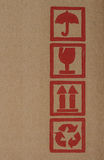 Bredvid asken Arkivfoto