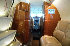 Bredvid cockpiten Royaltyfri Foto