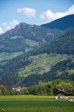 Bredvid den Brenner motorwayen Italien Arkivfoto