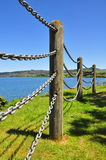 Bredvid sjön Arkivbild