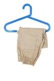 Breeches on hanger Stock Photos