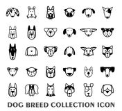 Breed dog collection icon, vector Royalty Free Stock Image