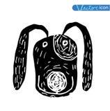 Breed dog collection icon, vector. black color Stock Photos
