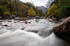 Breed het Meerlokmiddel Noord-Carolina van de Rivierstroomversnelling Royalty-vrije Stock Fotografie