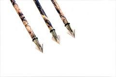 Breed-hoofd pijlen Royalty-vrije Stock Afbeeldingen