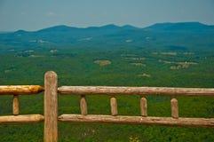 Breed Open Ozark Mountains overziet Arkansas Royalty-vrije Stock Afbeeldingen