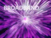 Breedband illustratie stock illustratie