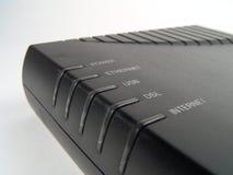 Breedband Modem stock afbeelding