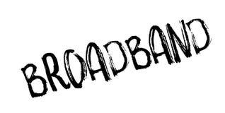Breedband rubberzegel royalty-vrije illustratie
