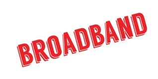 Breedband rubberzegel stock illustratie