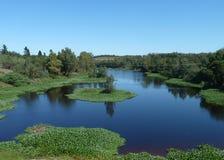 Breede河, Swellendam 库存图片