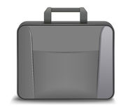 Breefcase icon. Vector briefcase icon on white background, eps10 file, gradient mesh and transparency used Stock Image