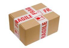 Breekbaar Pakket Royalty-vrije Stock Foto's