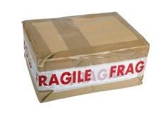 Breekbaar pakket Stock Afbeelding