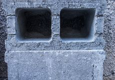 Breeze block stock photo