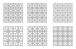 Free Breeze Block Patterns   Mid Century Modern Concrete Block   MCM Design Resources   50s & 60s Textures Stock Photos - 199388923