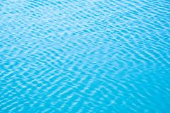 The breeze waves the water and forms waves.  stock photography