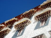 Breezes at the Potala Palace royalty free stock images