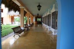 breezeway курорт тропический Стоковые Изображения
