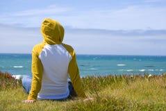Breezy coast Stock Images