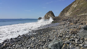 Breezy Day at Point Mugu, CA Royalty Free Stock Photos
