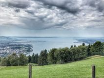 Bregenz Österrike Arkivfoto
