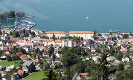 Bregenz in Austria on Bodensee Stock Image