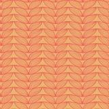 Brei het naadloze patroon van de linnenkrabbel Stock Foto