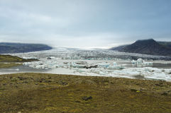 Breidarlon glacier, Iceland. View of Breidarlon glacier, Iceland Stock Images