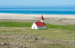 Breidavik church, Iceland Stock Photos
