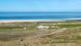 Breidavik village Royalty Free Stock Photos