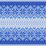 Breiend patroon Stock Afbeelding