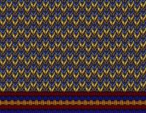 Breiend patroon Royalty-vrije Stock Afbeelding