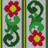 Breiende kleurenbloemen Stock Foto's