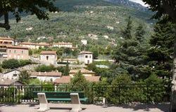 Breil-sur-Roya, Alpes-Maritimes, France Imagem de Stock