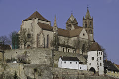 Breisach Cathedral Royalty Free Stock Photos