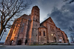 Breisach church hdr Stock Image