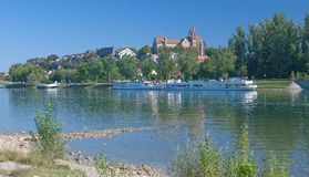 Breisach,Rhine River,Kaiserstuhl,black forest,germany Stock Photo