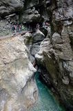 Breitachklamm,Germany Royalty Free Stock Photos