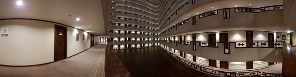 Breite Ansicht Udontani-Hotels Lizenzfreies Stockbild