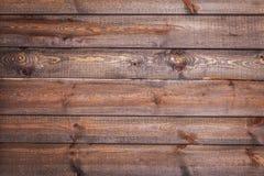 Breite horizontale hölzerne Planken Lizenzfreie Stockfotos