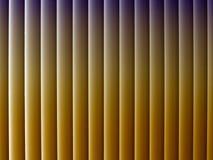 Breite Linien mit Schatten und schönen Steigungen Lizenzfreies Stockfoto