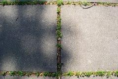 Breite Schritte des Fotos gemacht vom Beton Färben Sie die graue Struktur, fotografiert an der Dunkelheit und seien Sie sichtbare Stockfoto