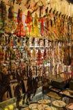 Breitengassenshops in Chengdu Stockbilder