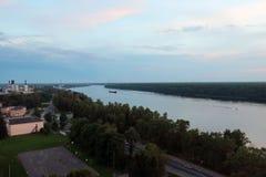 Breiter Fluss Lizenzfreie Stockbilder