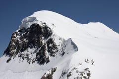 breithorn οι ορειβάτες από κοιν&omicr Στοκ φωτογραφία με δικαίωμα ελεύθερης χρήσης