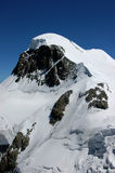 Breithorn. The famous Breithorn, 4164m, in the Swiss alps Royalty Free Stock Image