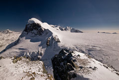 Breithorn Fotografia de Stock Royalty Free